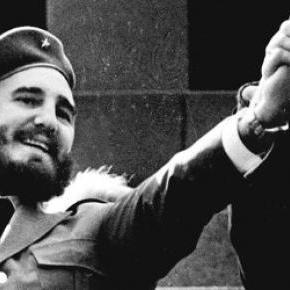Fidel Castro és Nyikita Szergejevics Hruscsov