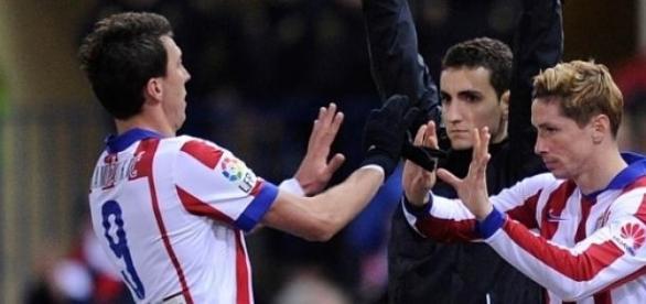 Mario Mandzukic le, Fernando Torres be