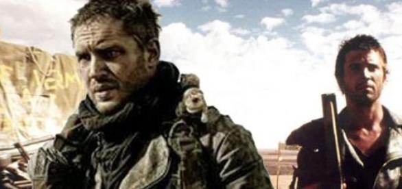 Tom Hardy e Mel Gibson nel ruolo di Mad Max.