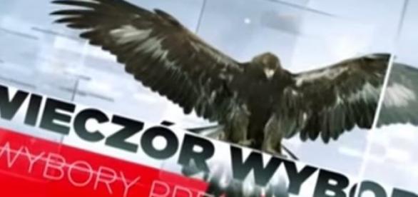 Zwiastun wieczoru wyborczego TVP, źródło: YouTube
