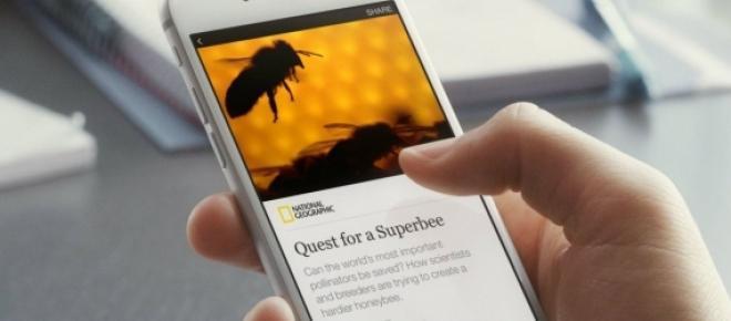 National Geographic es uno de los portales de noticas que está comenzando a usar Instant Articles