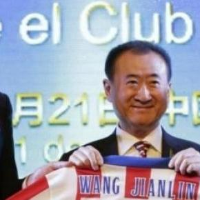 Gil Marín, Wang Jianlin és Enrique Cerezo