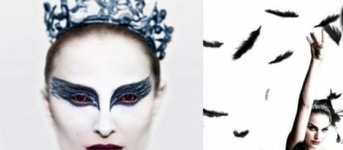 Black Swan with crown and feather