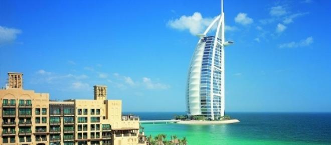 Arhitectura moderna in Dubai.