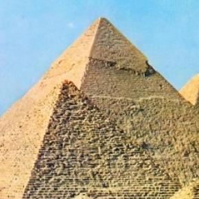 Piramisok, melyeket mindenki ismer.