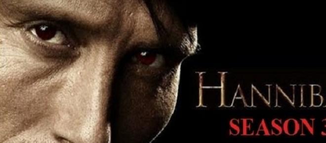 Hannibal: estreia 3.ª temporada.