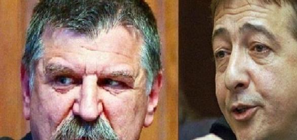 Fidesz-lélek. Kövér László és Bayer Zsolt.