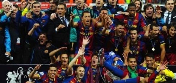 Piłkarze Barcy mają już pierwsze trofeum!