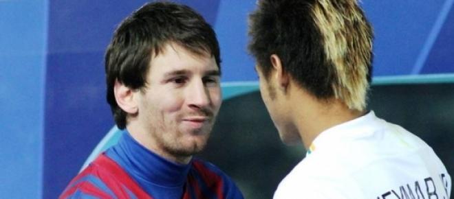 La 'Pulga' Y Neymar, astros del Barca