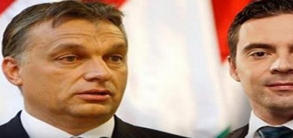 Jövőnk reménységei. Orbán és Vona.