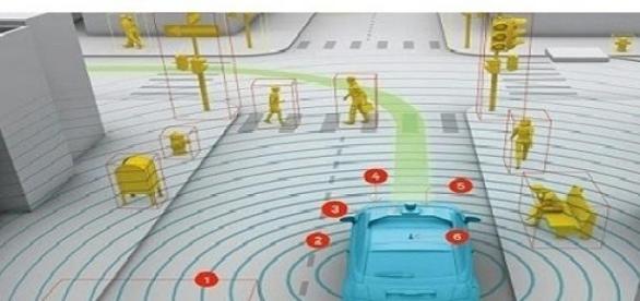 mire figyel a robot kocsi