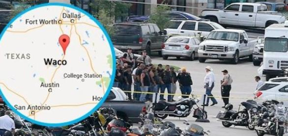 Pandillas de motociclistas pelean en Texas Market