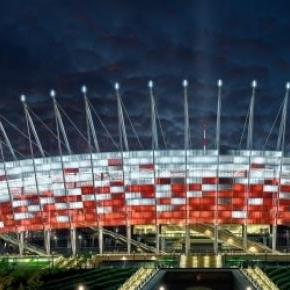 Stadion Narodowy w Warszawie.
