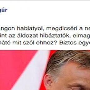 Ungár, Orbán, és a megengedhetetlen tahóság
