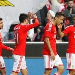 Após o clássico, o Benfica goleou o Gil Vicente