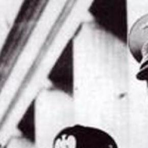 Cei doi dictaturi fascisti Mussolini si Hitler