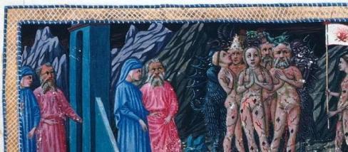 Dante és Vergilius a Pokol kapujában