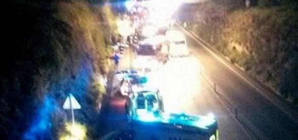 Acidente ocorreu às 4 da madrugada em Cernache