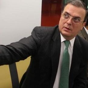 Marcelo Ebrard en la inauguración de la Línea 12.