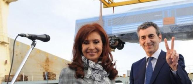 CFK junto al pre-candidato presidencial, Randazzo.