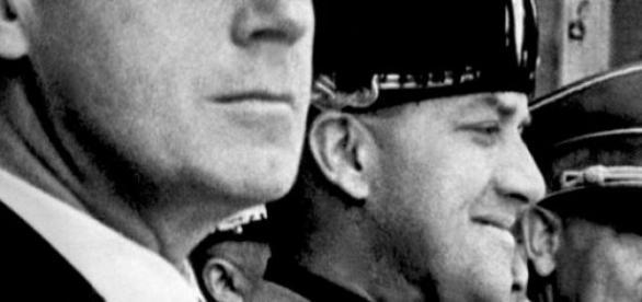 Chancellor Adolf Hitler and Minister Ribbentrop