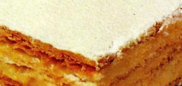 La millefoglie, un dolce delizioso