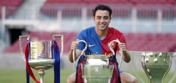 Xavi zapewnił drużynie wiele trofeów.