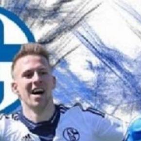 Die Torjäger Felix Schröter (li.) und Joshua Mees
