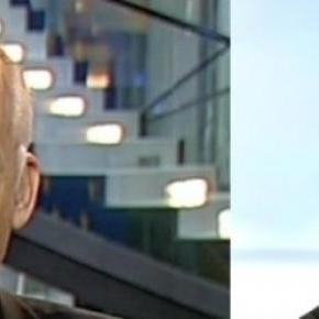 Janusz Korwin-Mikke i Jarosław Kaczyński (tvn/pap)
