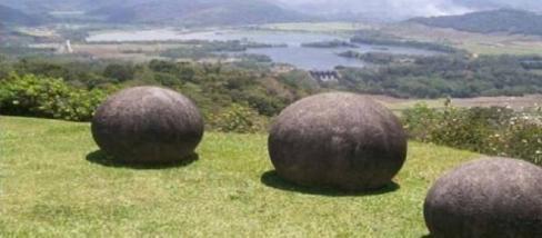 Costa-Rica rejtélyes óriásgolyói.