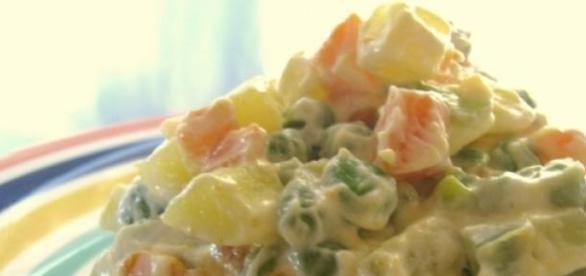 La ricetta dell'insalata russa