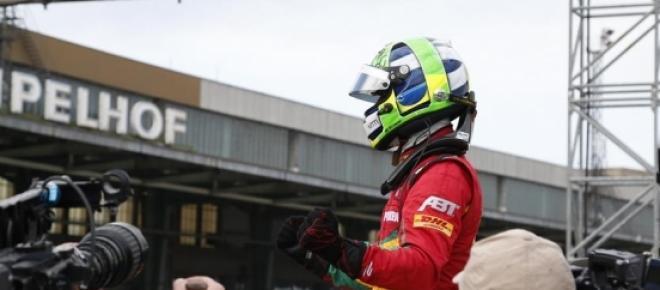 Korai volt Di Grassi öröme (Forrás: FIA Formula E)