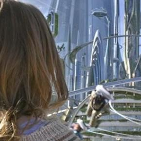 Britt Robertson sparkles in Tomorrowland