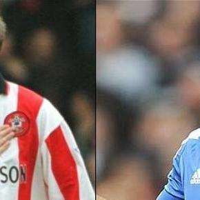 Matthew Le Tissier és Didier Drogba