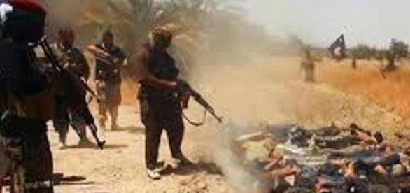 Jihadiştii ISIS ucid fără mila