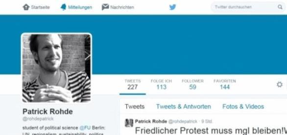 Patrick Rohde: Twitter und Co als Waffe.