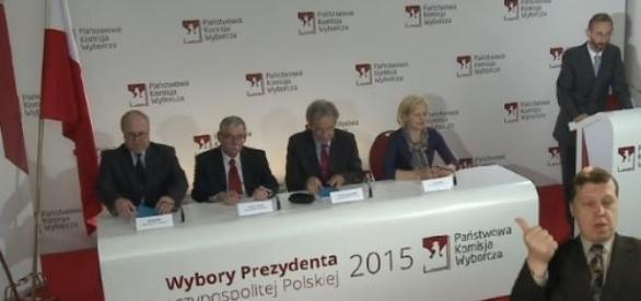 PKW o frekwencji wyborczej 24 maja, livestream