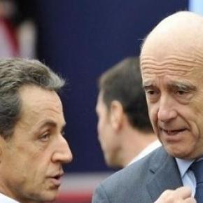 Alain Juppé, et Nicolas Sarkozy