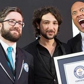 "Dwayne ""The Rock"" Johnson sets world record"