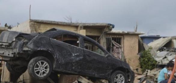 La tornade a fait plusieurs victimes au Mexique.