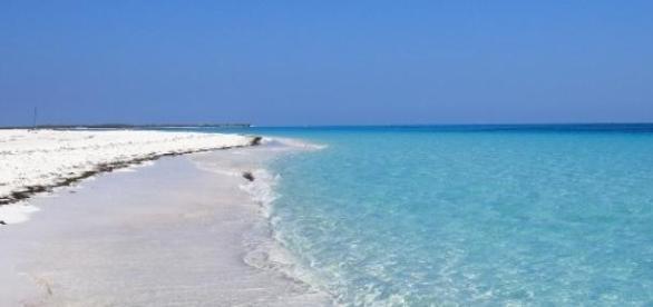 Piękne kubańskie plaże przyciągają turystów.