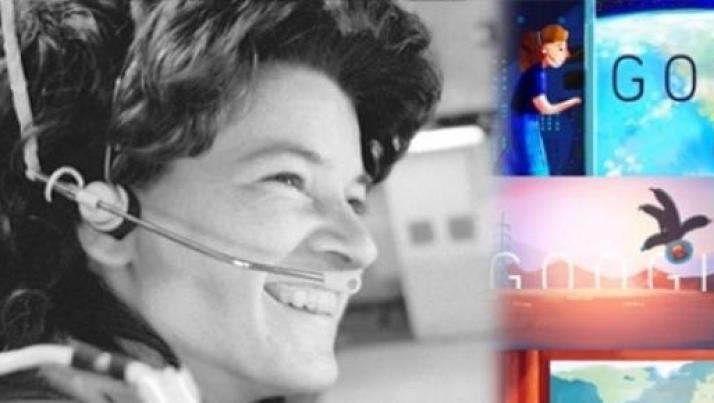 Google Doodle di oggi 26 maggio 2015: a chi è dedicato, chi è Sally Ride?