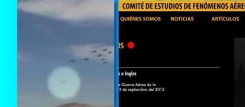 Avvistamenti UFO in Cile: immagini e mistero
