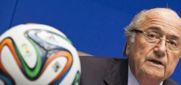 Przewodniczący federacji Sepp Blatter