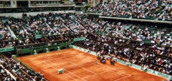 Roland Garros - jeden z kortów tenisowych w Paryżu