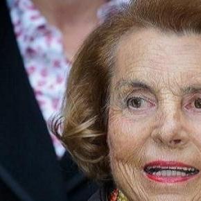 Liliane Bettencourt.  AFP