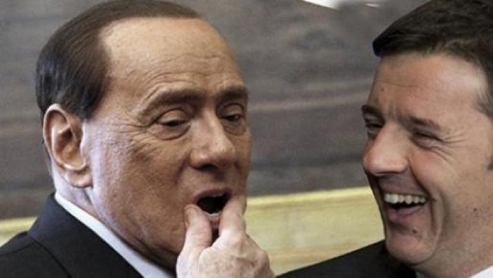 Gran colpo di Virus: confronto Renzi-Berlusconi, i dettagli