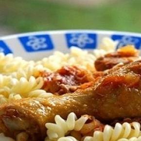 A fő fogás: paprikás csirke