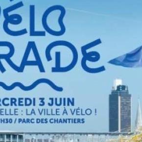 Affiche de la Vélo Parade - Nantes Velo-City 2015