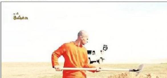 Un prizonier a fost decapitat de jihadiști